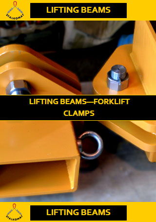 Catalogue - Lifting Beams - Forklift Clamps